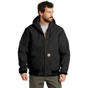 Carhartt® Quilted-Flannel-Lined Duck Active Jacket