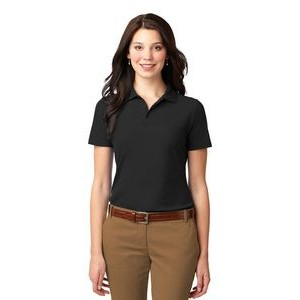 Port Authority� Ladies Stain-Resistant Polo Shirt